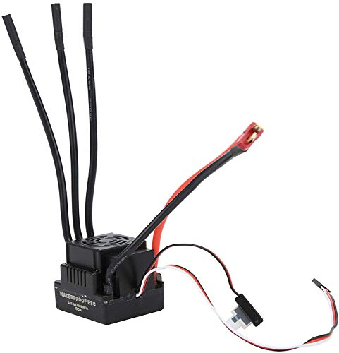 Ventilador de enfriamiento de motor RC Esc, Toy Safe Electric SpeedController, RC Escebado ESC RC Accesorio RC Parte Para Modelo Modelo De Automóvil (XT60) RC Motor Sentredsink ( Color : T Plug )