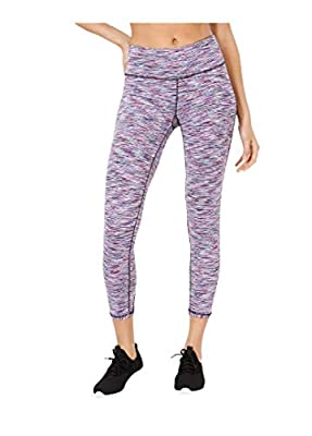 Ideology Space-Dyed Cutout Leggings-L-Midnight Purple