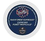 Timothy's World Coffee Rainforest Espresso K-Cup Coffee