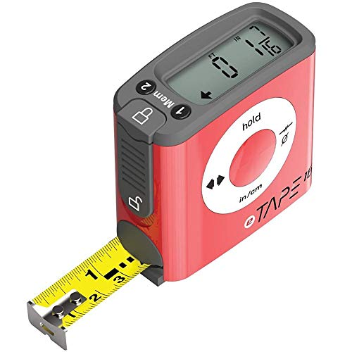Starnearby 5m Digital Maßband Maßbänder Entfernungsmesser mit LCD Hintergrundbeleuchtung