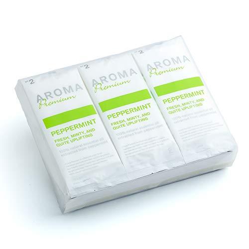FSX 抗ウイルス 抗菌 紙おしぼり アロマプレミアム ペパーミント 1パック 30本 大判 厚手 高級 平 業務用