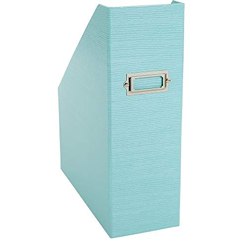 Office by Martha Stewart 1892212 Office by Martha Stewart Stack+Fit Magazine File Blue (28799)