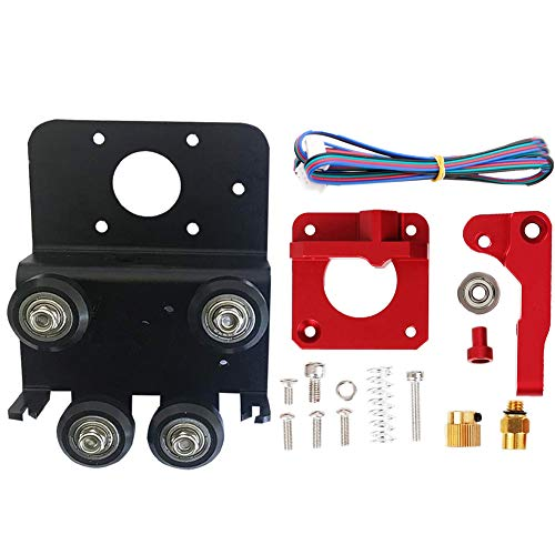 3D Printer Extruder Upgrade 3D Printer Direct Extruder Upgrade Drive Kit Parts Plate Aluminum Alloy for Ender 3 Pro CR 10 CR 10S S4 S5