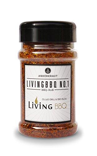 Living BBQ No. 1, BBQ Rub im Streuer