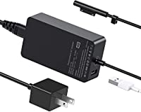 Compatible models: 15V-4A 65W power adapter for microsoft surface pro charger, windows surface charger, surface laptop charger, surface pro 3 4 5 6 go book charger and more. With additional usb 2.0 charging port of 5V / 1A. You can charge another dev...
