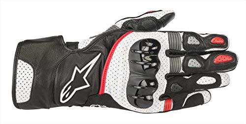 Alpinestars Gants moto Sp-2 V2 Gloves Black White Red, Noir/Blanc/Rouge, XL