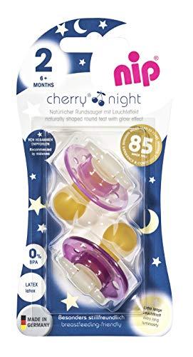 Nip Cherry Night ab 6 Monate Latex (Rosa)