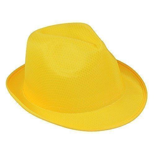 eBuyGB Unisex Panama Trilby-stijl Fedora Sun Bowler Hat Ideaal voor vakantie kostuumparty Jazz ganger