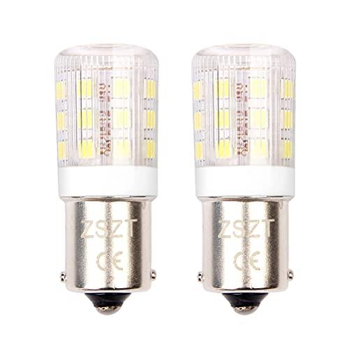 1156 Glühbirne 12V 24V Singlekontakt, Kaltweiß 6000K Kleine Größe, Wasserdichtes Design für Outdoor-Landschaft Beleuchtung, etc. (2 Stück)