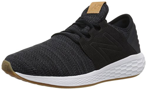 New Balance Fresh Foam Cruz v2 Knit, Zapatillas para Mujer, Negro (Black/Magnet/White Munsell Kb2), 41.5 EU