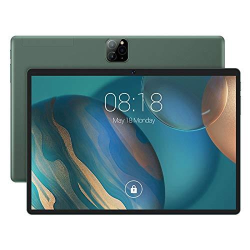 Huante - Tablet Android de 10,1 pulgadas, tabletas de teléfono 3G y doble tarjeta SIM y procesador 8 C?Urs, pantalla HD 1080P (1 + 16 GB, enchufe UE)
