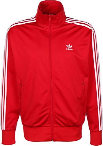 adidas Herren Firebird Originals Jacke, Scarlet/White, L