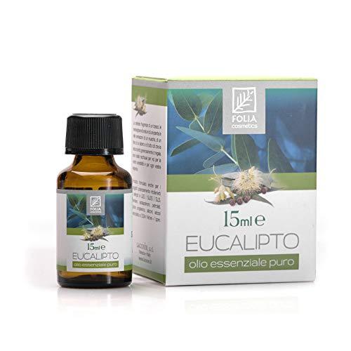 Folia Cosmetics Olio Essenziale Puro di Eucalipto