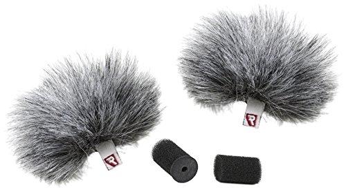 Rycote 065502Windjammer für Lavalier–Grau (2Stück)