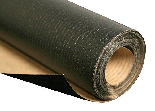 Clairefontaine 395729C Rolle Kraftpapier (60 g, 10 m x 1 m, ideal für Verpackungen und Skizzen) schwarz