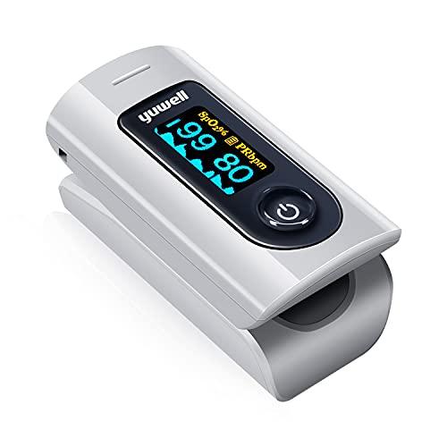 医療機器認証取得済 日本国内検品済 パルスオキシメーター 血中酸素濃度計 医療用 家庭用 心拍計 spo2 脈拍測定器 クリップ式 ワンタッチで簡単操作 5秒測定 有機ELデイスプレイ 携帯便利 健康管理
