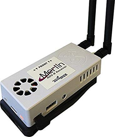 Merlin-Stratux ADS-B Receiver - Including 6 Months of FlyQ EFB IPad App ($150 Value)