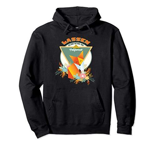 Lassen Volcanic National Park Sierra Nevada Red Fox Souvenir Sudadera con Capucha