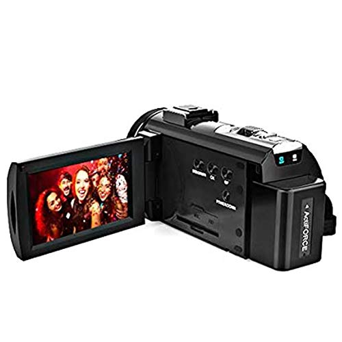 ZCFXGHH 4K Video Recorder,WiFi Ultra HD Vlog Camera for YouTube, 3.0'' IPS Screen 16X Digital Zoom Night Vision Video Recorder,This is The Best Gift for Meetings, Travel, Vacation