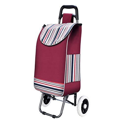 Shopping trolley Einkaufswagen | Leichter Einkaufswagen | Tragbarer Seniorenwagen | Außenreisewagen | Home Treppensteigen Warenkorb