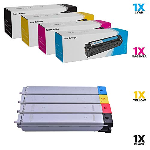 SHZJZKompatible Toner Cartridge Ersatz Für HP W9040MC W9041MC W9042MC W9043MC Für HP Color Laserjet Managed MFP E77822dn E77822z E77825dn E77825z E77830dn E77830z (BCYM, 4-Pack),4p