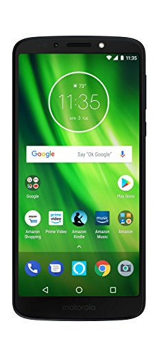Moto G6 Play with Alexa Push-to-Talk – 32 GB – Unlocked (AT&T/Sprint/T-Mobile/Verizon) – Deep...