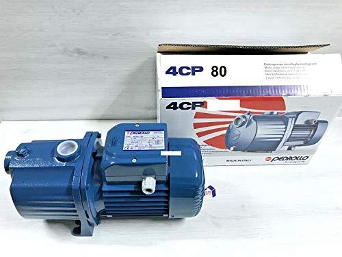 ELETTROPOMPA 0,60 HP PEDROLLO 2-4 CP CENTRIFUGA MULTIGIRANTE 3CPm 80-C