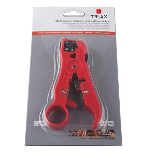 Triax – Outils Kabi – pour couper et dénuder câble coaxial 153638