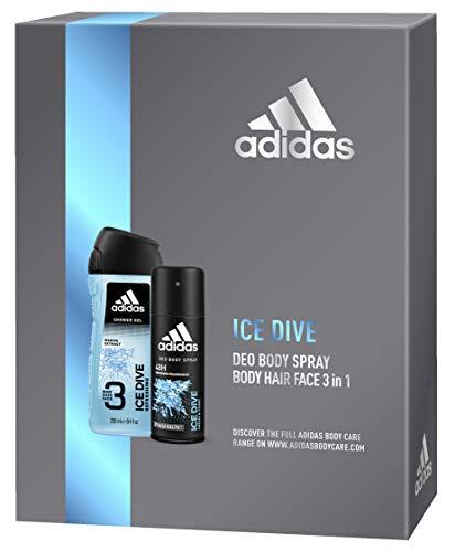 adidas Ice Dive für ihn Geschenkset Body Spray + Duschgel, 350 g