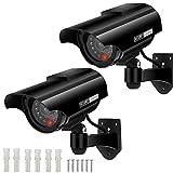 Factice Caméra Surveillance à l'énergie Solaire Appareil-Photo de dôme de télévision en Circuit fermé de sécurité avec la...