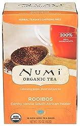 Numi Tea Red Mellow Bush Supplement Rooibos Tea, 18 Count