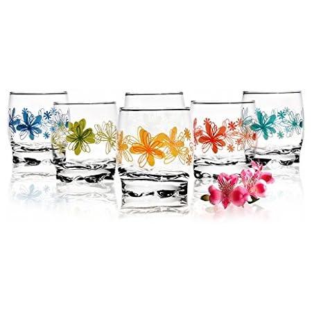 Sables /& Reflets 6 Verres Gobelets à eau Soda et à jus 350 ml