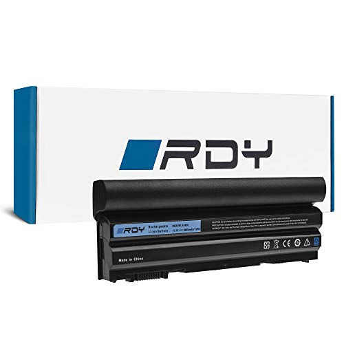 RDY 6600mAh Laptop Battery 8858X M5Y0X T54FJ for Dell Latitude E5420 E5430 E5520 E5530 E6420 E6430 E6440 E6520 E6530 E6540 | Dell Vostro 3460 3560 | Dell Inspiron 14R 5420 15R 5520 7520 17R 5720 7720