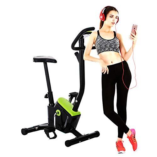 Lhlbgdz Bicicleta estacionaria de Ejercicio de Ciclo Interior con Monitor LCD Cardio Fitness Gym Máquina de Ciclismo Entrenamiento Entrenamiento con Carga 120 KG