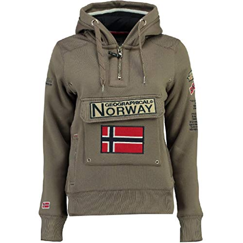 Geographical Norway Sudadera Mujer GYMCLASS B Taupe M