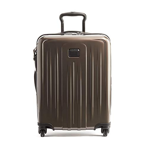 TUMI - V4 Continental Expandable 4 Wheeled Carry-On - 22-Inch Hardside Luggage for Men and Women - Mink