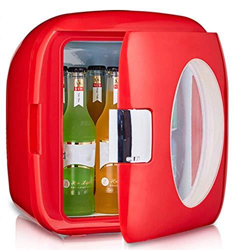 TTOOY Refrigerador de Coche pequeño de 9 l, Mini Nevera de Oficina de Estudiante para Dormitorio, Caja de termostato de refrigeración de calefacción, para la Oficina en casa, Dormitorio