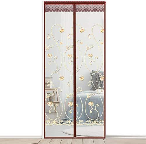 Magnetic Fly Insect Magnetic Screen deur glasvezel Large Magneet Patio deur mesh Curtain voor Bedroom, Living Room, voordeur, garage blokkering muggen