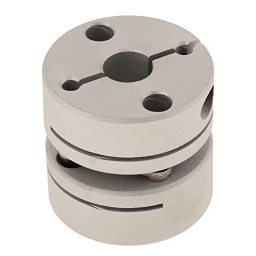 Homyl Aluminum Alloy Shaft Coupler with Diaphragm Joint 34x34mm