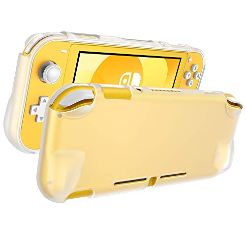 ESR Nintendo Switch lite 用 ケース ニンテンドースイッチ 用 カバー 透明 シリコンケース ソフトカバー 【極薄 超軽量 耐衝撃 傷つけ防止 着脱簡単】 保護バンパー (クリア)