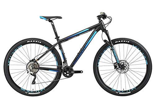 Silverback 004 Bicicleta, Unisex Adulto, Negro/Azul, M
