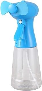 YCEOT Ventilador con rociador de Agua Ventilador de nebulización de Mano - Ventilador de nebulización con Niebla como Ventilador con batería Rociador de Botella de Agua (300 ml)