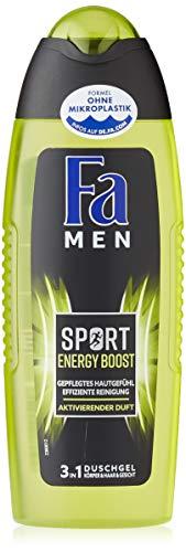 FA MEN 3in1 Duschgel Sport Energy Boost mit aktivierendem Duft, 1er Pack (1 x 250 ml)