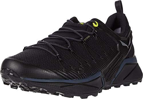 Salewa MS Dropline Gore-TEX Zapatillas de trail running, Black Out/Fluo Yellow, 40.5 EU