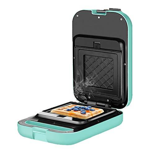 WXLSQ Sandwichera Wafflera Sandwich Grill 3-en-1 Desmontables Revestimiento Antiadherente 600W Mango frío al Tacto con Control de Temperatura Desayuno Máquina