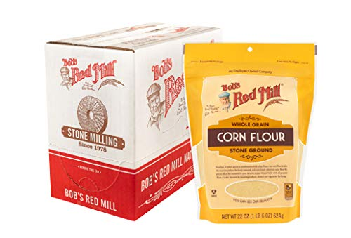 Bob's Red Mill Yellow Corn Flour, 22-ounce (Pack of 4)