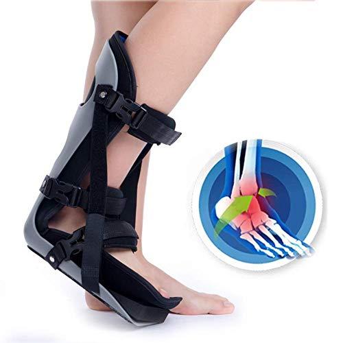 Tobillera Tobillera Bota Walker Ajustable - Rotura del pie Hueso Roto, para inmovilización y Protege eficazmente el Tobillo Alivia el Dolor,L