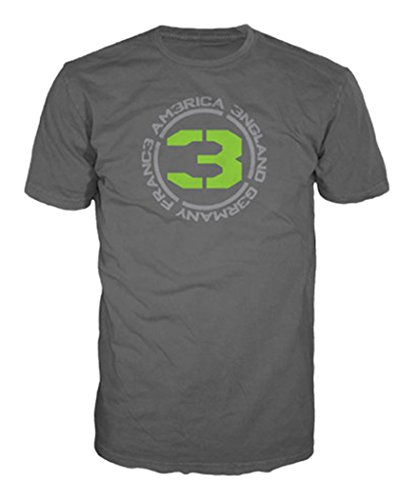 T-Shirt 'Call of Duty Modern Warfare 3' - Countries 3 - sable - Taille XXL