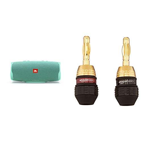 JBL Charge 4 Bluetooth-Lautsprecher in Petrol – Wasserfeste, Portable Boombox...