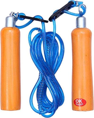 Neulife Wooden Handle Freestyle Skipping Rope